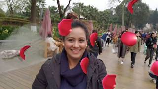 Visiting ROSE Garden of China Chengdu with Mamta Sachdeva Air hostess