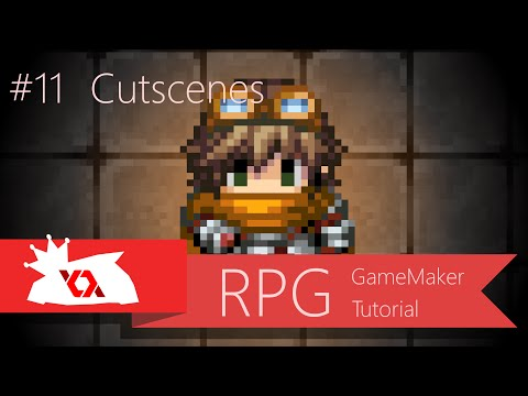 Game Maker Tutorial- RPG #11- Cutscenes