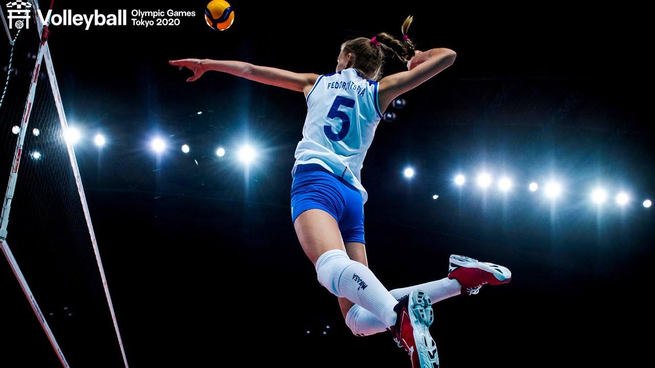 Arina Fedorovtseva 🇷🇺 scored 28 POINTS💥 vs. China at #Tokyo2020! 🗼