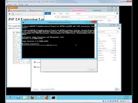 Install Tomcat 8 on Windows 2012 Server and use IIS 8 as frontend