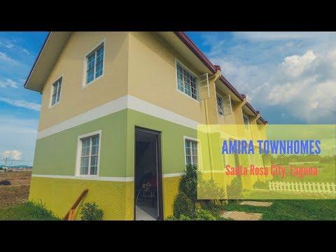 Amira Townhomes, Affordable Townhouse in Santa Rosa City, Laguna