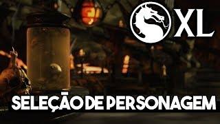 CONFIRA COMIGO O QUE OS PERSONAGENS DO GAME MKXL FAZEM QUANDO SÃO S...