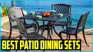 Top 5 Best Patio Dining Sets in 2020 Reviews