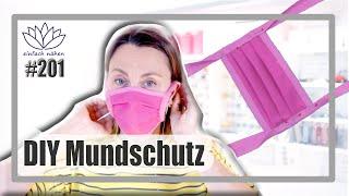 DIY Mundschutz selber nähen
