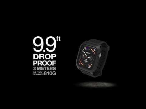 原廠CATALYST公司貨 APPLE WATCH SERIES S4 / S5 44mm 耐衝擊 防摔 保護殼 含錶帶