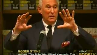 """Roger Stone """"The Man Who Killed Kennedy: The Case Against LBJ"""""""