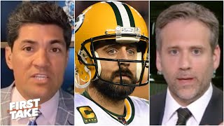 How far can the Packers go with a disgruntled Aaron Rodgers? First Take debates