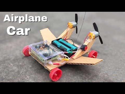 How to Make RC Airplane Car tutorial — RC Plans