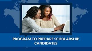 PROGRAM TO PREPARE SCHOLARSHIP CANDIDATES