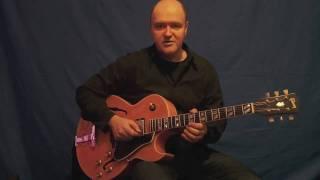 Guitar Lesson Jazz Improvisation 2-5-1 Lines Peter O´Mara