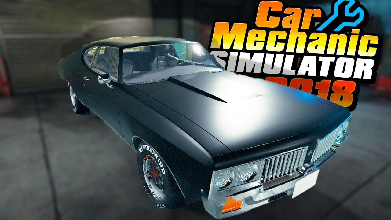 Building The Ultimate Muscle Car Car Mechanic Simulator 2018 Part