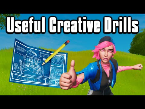 Ten Creative Drills To Practice Your Mechanics! - Fortnite Battle Royale