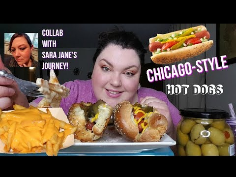 MUKBANG CHICAGO-STYLE HOT DOGS EATING SHOW