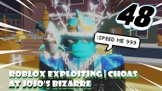 Roblox explorando choas em JoJo ' s Bizarre Adventure EP. 48