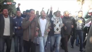 مظاهرات وصدامات في سيدي بوزيد