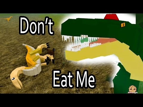 Don't Eat Me!! I'm A Baby Dino  Roblox Dinosaur Simulator Online Game Let's Play