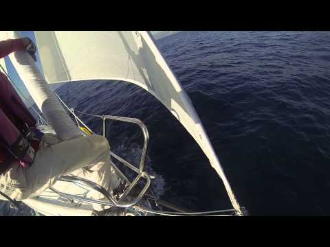 Beneteau First 300 Spirit with custom Bowsprit and Code0 light air reaching