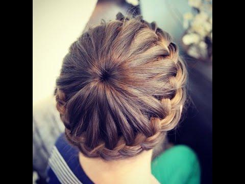 """""""Корона"""" - модное плетение французской косы"""