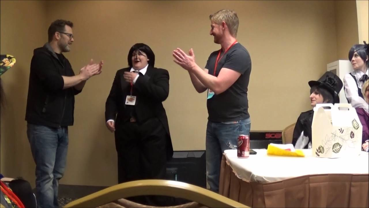 The Black Butler Panel At AnimeCon Arkansas 2016
