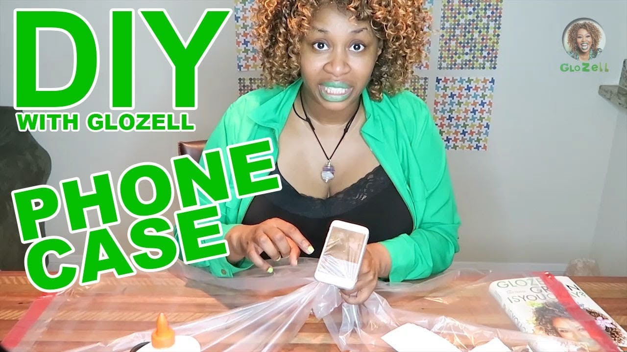 DIY with GloZell - Phone Case
