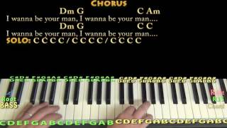 I Wanna Be Your Man (Beatles) Piano JamTrack in C Major with Chords/Lyrics