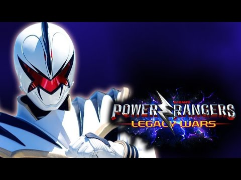 Power Rangers Legacy Wars - White Dino Ranger UNLOCKED