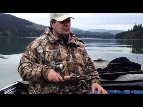 Kokanee Fishing. Merwin Lake WA