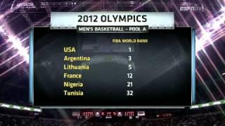 Dominican Republic vs  USA 7 12 2012 3rd Quarter 00h00m00s 00h05m57s
