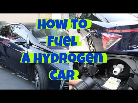How to Fuel a Hydrogen Fuel Cell Car (Toyota Mirai Fueling Cost & Technique)