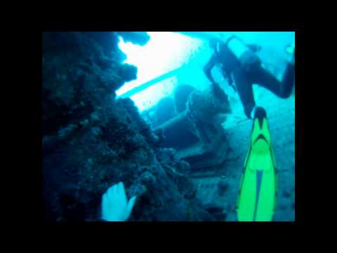 Scuba diving GoPro HD in Cape Verde