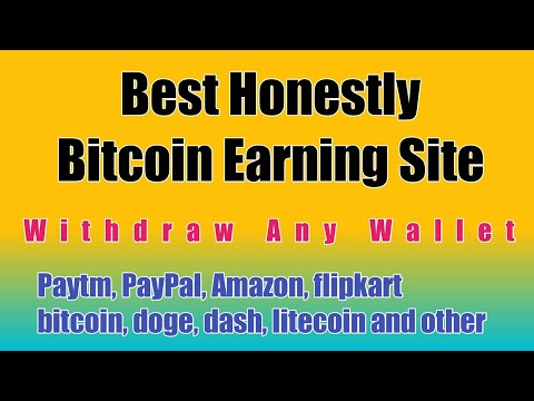 Best Honestly Bitcoin Earning Site In 2020 | How to earn money without investment