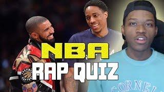 WHO RAPPED THAT NBA LYRIC?