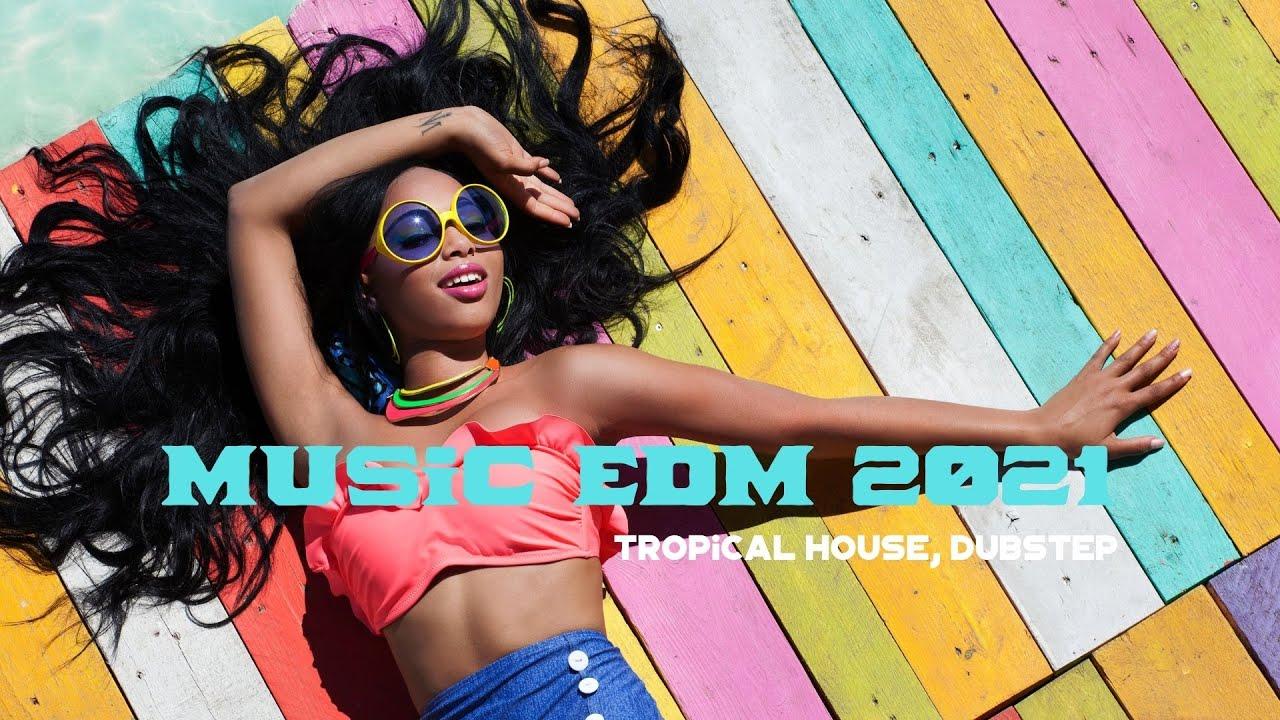 EDM New Songs 2021   1 Hour Summer EDM Music   Hardwell, Diplo, KAAZE   Get High & Hands up