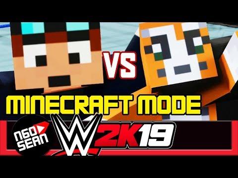 DanTDM Vs Stampy MINECRAFT MODE WWE 2K19