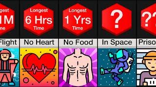 Time Comparison: World Records