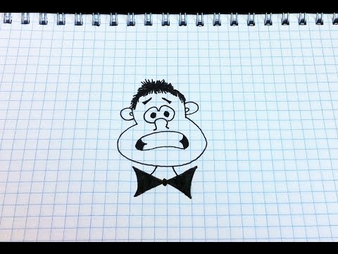 Простые рисунки #136 Чудик =)