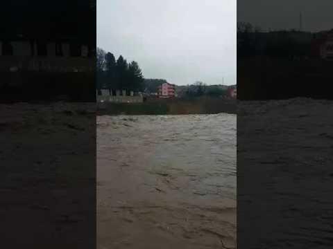 Berane poplave, izlivanje rijeke Lim