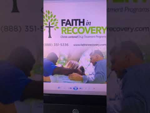Faith in Recovery Radio Show Guest Orlando PD Chief John Mina