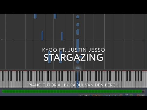 Kygo - Stargazing ft. Justin Jesso Piano Tutorial + Sheets