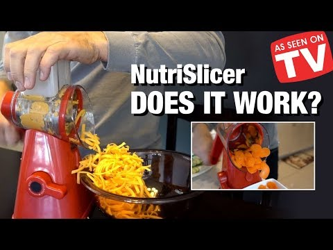 NutriSlicer Review: Does This As Seen on TV Slicer Work?
