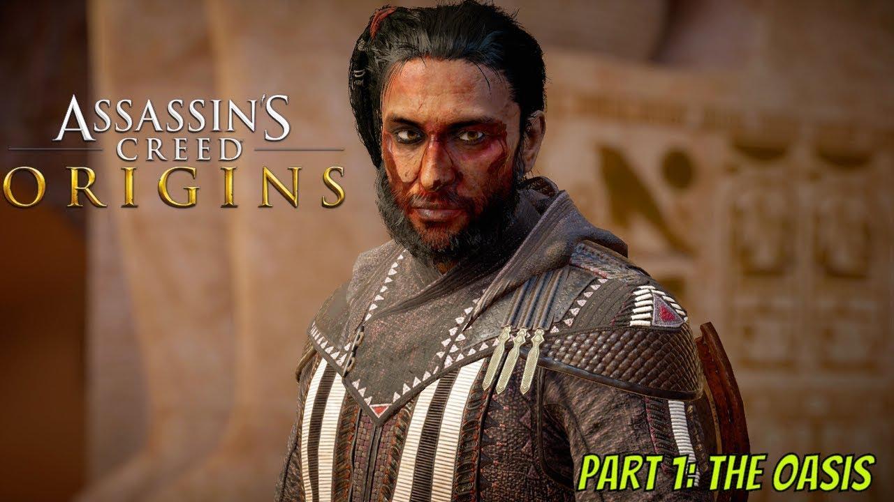 Assassins Creed Origins Part 1 The Oasis Bayek Returns To Siwa