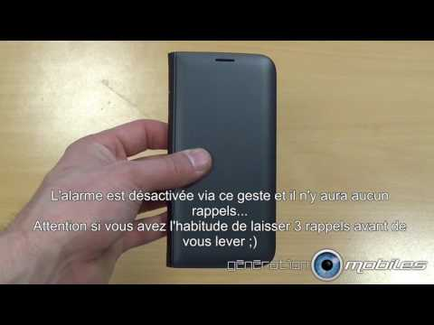 Test Housse Led View Cover Samsung Galaxy S7 S8  S7 edge