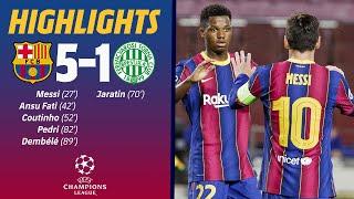 HIGHLIGHTS & REACTION | Barça 5-1 Ferencváros