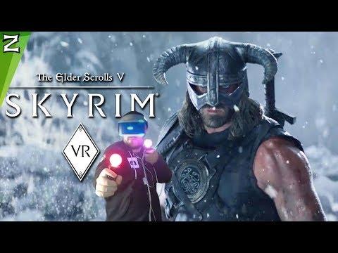 SKYRIM VR - UNA EXPERIENCIA INCREIBLE