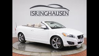 VOLVO 'ICE WHITE' C70 COUPE CONVERTIBLE Videos