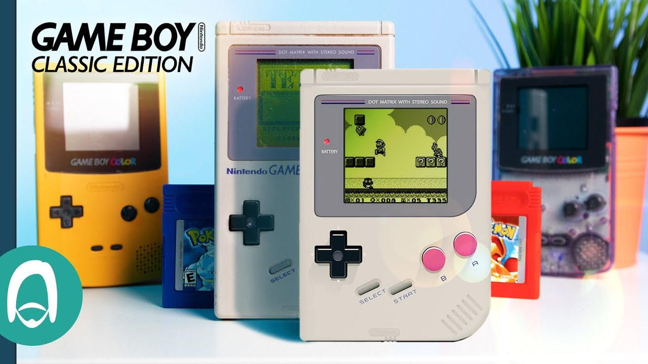 Game Boy Classic Edition - How it SHOULD be - YouTube