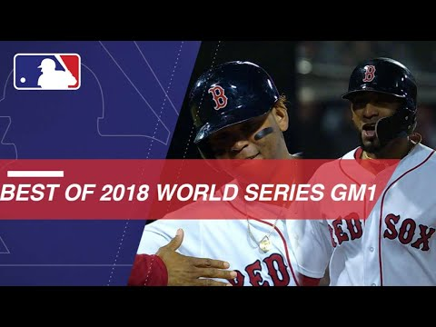World Series 2018: Red Sox down Dodgers 8-4 in Game 1