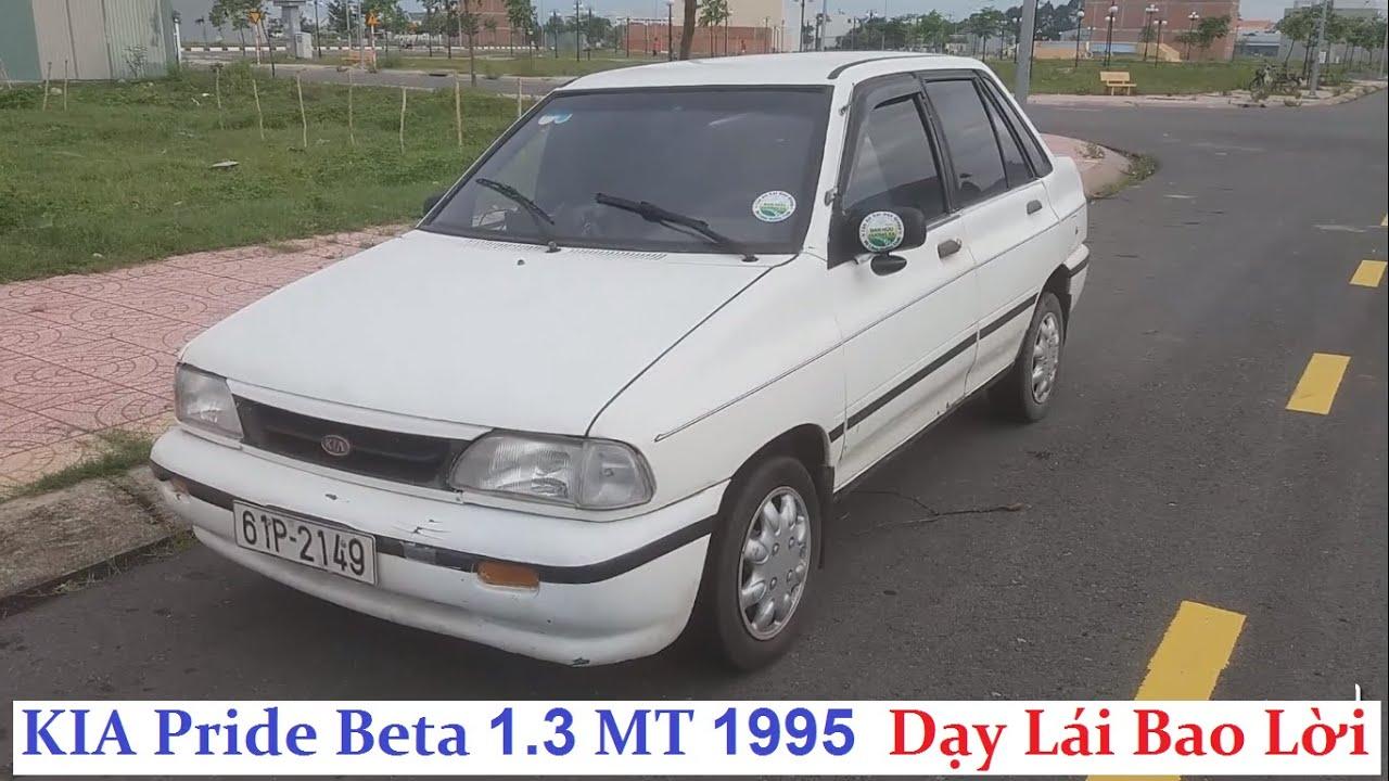 Đã bán – KIA Pride Beta 1.3 MT 1995 – 29,5 triệu – nhỏ gọn, tiết kiệm, xe tập lái huyền thoại giá rẻ