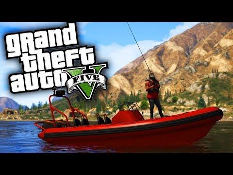 Fishing Trip!! - GTA 5 Real Hood Life 2 - Day 9