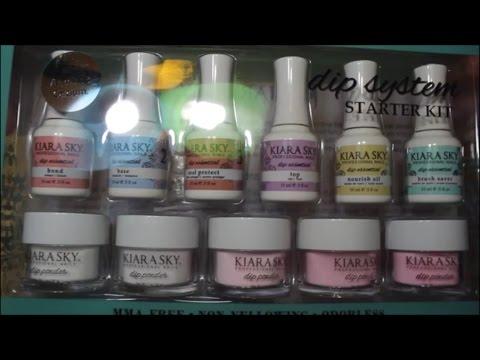 Kiara Sky Dip Powder System Review Youtube